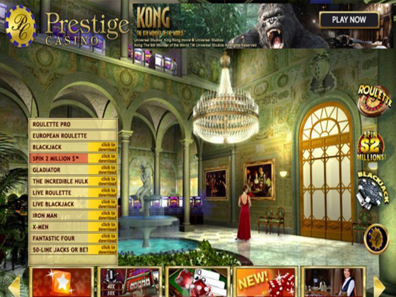 prestige casino serios